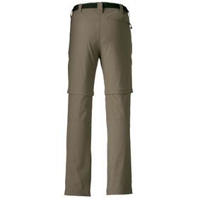 Maier Sports Tajo 2 Pantalones Zip-Off Hombre, teak